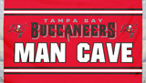 NFL Tampa Bay Buccaneers Man Cave Flag with 4 Grommets Flag