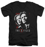 The X Files - Mulder & Scully V-neck Shirts
