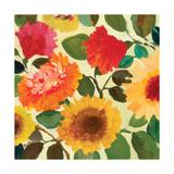 Fall Garden 2 Reproduction procédé giclée par Kim Parker