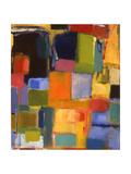 Color Essay with Orange Impression giclée par Kim Parker
