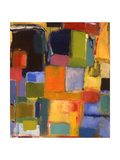 Color Essay with Orange Giclee Print by Kim Parker