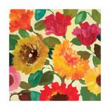 Fall Garden 1 Reproduction procédé giclée par Kim Parker