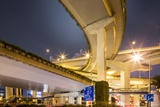 Highway Overpass, Shanghai, China Photographic Print by Paul Souders