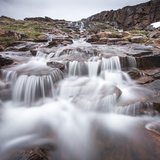 Waterfall, Hudson Bay, Nunavut, Canada Photographic Print by Paul Souders