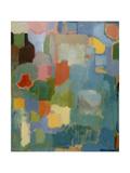 Color Essay in Turquoise Giclée-Druck von Kim Parker
