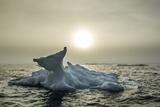 Melting Iceberg, Hudson Bay, Nunavut, Canada Photographic Print by Paul Souders