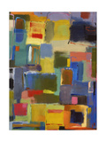 Color Essay with Sea Green Giclée-Druck von Kim Parker