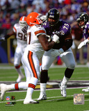 Jonathan Ogden 2005 Action Photo