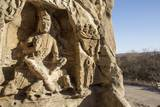 Buddha Caves, Datong, Shanxi Province, China Photographic Print by Paul Souders