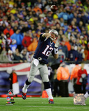Tom Brady 2014 AFC Championship Game Action Photo