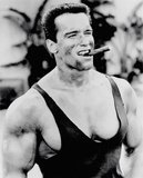 Arnold Schwarzenegger - Cigar Plakat