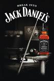 Jack Daniel's Old 7 Plakaty