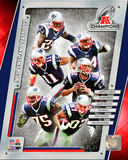 New England Patriots 2014 AFC Champions Team Composite Photo