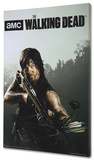 The Walking Dead - Daryl Stretched Canvas Print