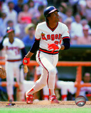 Rod Carew 1985 Action Photo