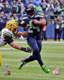 Marshawn Lynch 2014 NFC Championship Game Action Photo