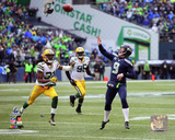 Jon Ryan Fake Field Goal Touchdown Pass 2014 NFC Championship Game Photo