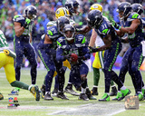 Byron Maxwell Interception 2014 NFC Championship Game Photo