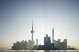 Pudong Skyline, Shanghai, China Photographic Print by Paul Souders