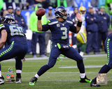 Russell Wilson 2014 NFC Championship Game Action Photo