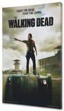 The Walking Dead - Jailhouse Stretched Canvas Print