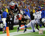 Brandon LaFell AFC Championship Game Action 2014 Playoffs Photo