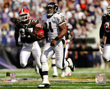 Jamal Lewis NFL Single Game Rushing Record- 295 Yards, September 14th, 2003 Photo