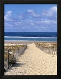 CaboFerret, Bahía de Arcachón, Gironda, Aquitania, Francia Lámina fotográfica enmarcada por Doug Pearson