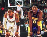 Allen Iverson and Koby Bryant Photo