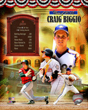 Craig Biggio MLB Hall of Fame Legends Composite Photo