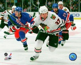 Adam Burish 2008-09 Action Photo