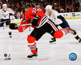 Adam Burish 2007-08 Action Photo