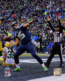 Jermaine Kearse celebrates his Game Winning Touchdown Catch 2014 NFC Championship Game Photo