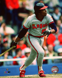 Rod Carew 1982 Action Photo
