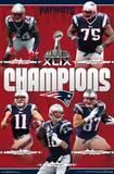 Super Bowl XLIX Champions - New England Patriots Posters