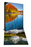 Sunrise on Lake, Northern Maine & Pond at Tioga Pass and Tuolumne Meadows, Yosemite Nat'l Park Set - Poster