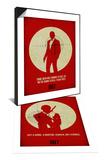 James Poster Red 3 & James Poster Red 4 Set - Tablo