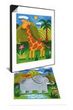 Gerry the Giraffe & Nellie the Elephant Set - Tablo