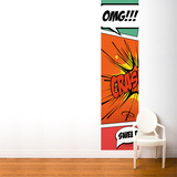 Pop Comic Wall Mural