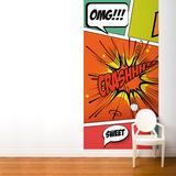 Pop Comic Wall Mural