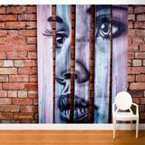 Gaze Wall Mural