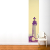 Lighthouse and Mist Wall Mural