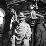 Statue of Moses, for the Well of Moses, Located in the Cloister of the Charterhouse of Champmol Photographic Print by Pietro Ronchetti