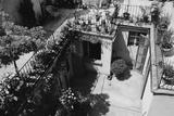 Hotel Terrace in Ravenna Photographic Print by Otto Zenker