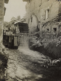 Braida Mill in Oleis During the First World War Photographic Print by Luigi Verdi