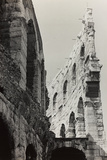 View of the Second and Third Rows of Arcades in the Arena of Verona Photographic Print by Otto Zenker