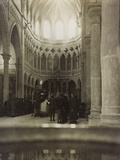 Soldiers in the Church of Premariacco During the First World War Photographic Print by Luigi Verdi