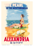 Alexandria, Egypt - The Pearl of the Mediterranean Prints by Menassa Rachad