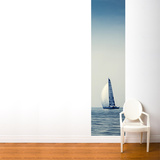 Calm Blue Wall Mural