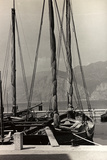 Sailboats in the Harbour of Malcesine Photographic Print by Otto Zenker